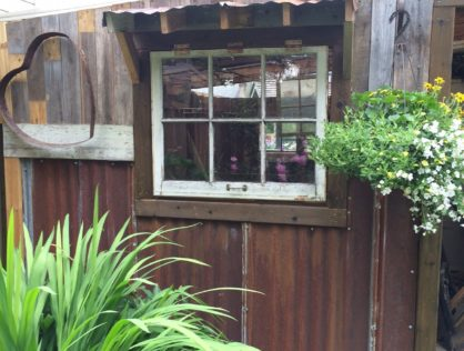 Woodshed Facelift